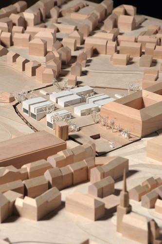 Anunciados os Premiados para o Novo Museu da Bauhaus Museum em Weimar, 2° Lugar - Johann Bierkandt, Landau