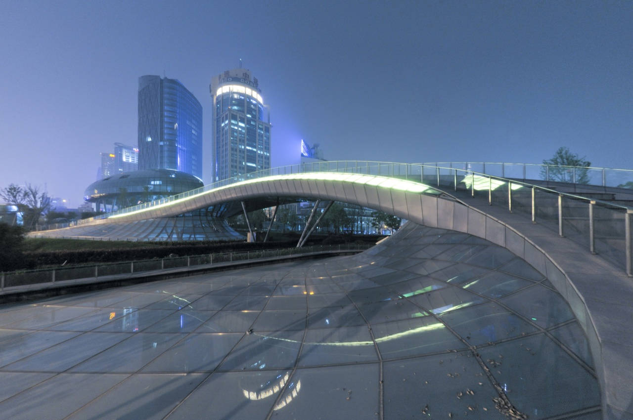 Terminal de Xangai / Frank Repas Architecture, © Cortesia de Frank Repas Architecture