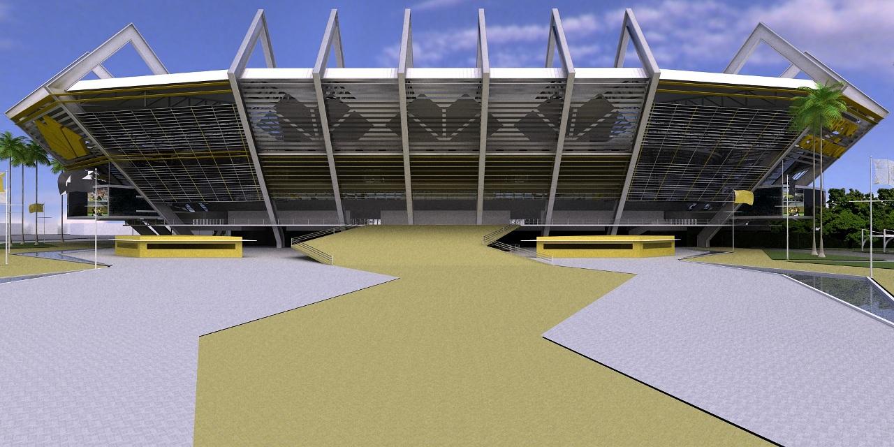 Arena Criciúma / Ramon Pacheco de Freitas , Cortesia Ramon Pacheco de Freitas