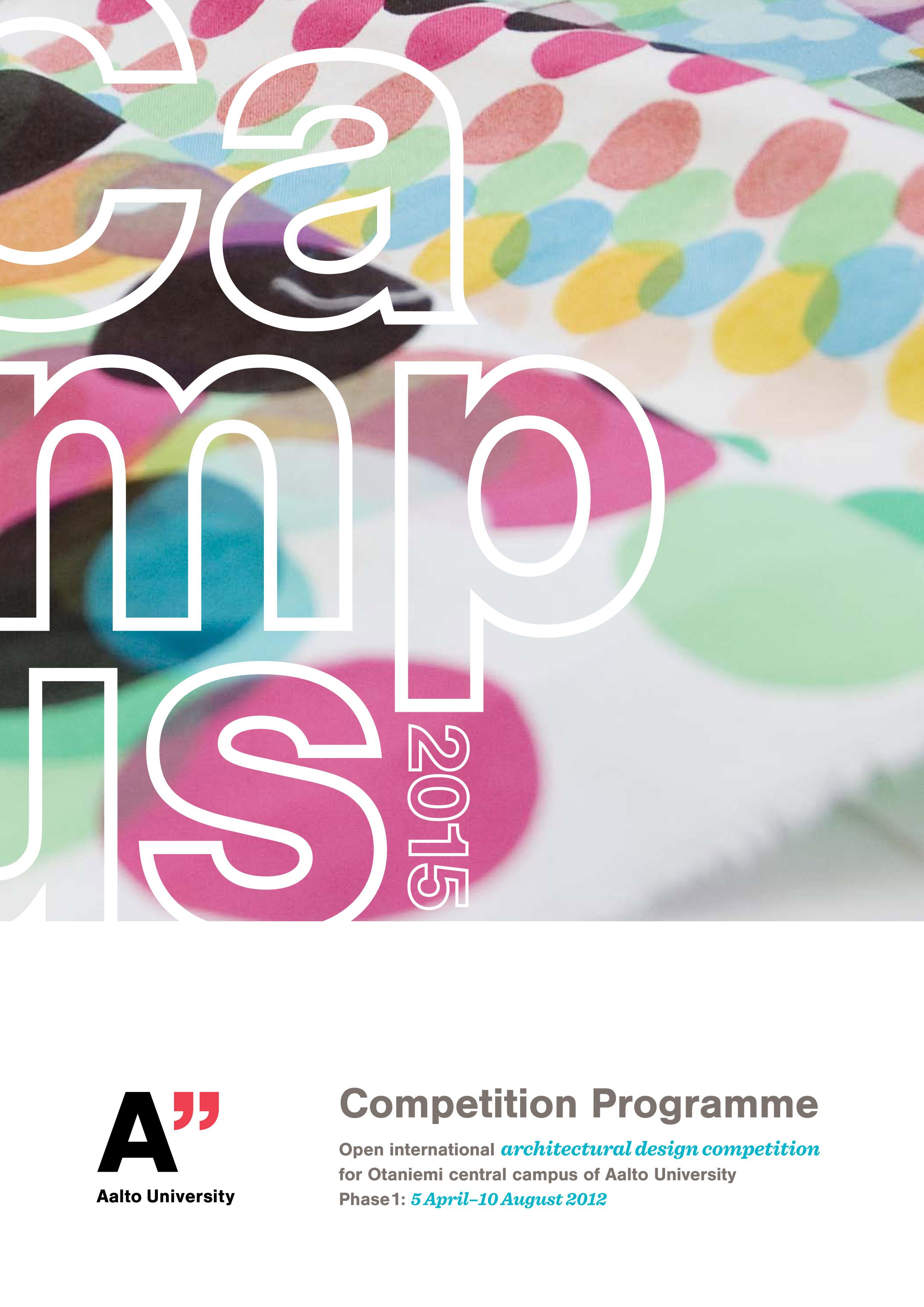 """Concurso """"Campus 2015"""" para o projeto do campus central da Universidade Aalto em Otaniemi / Finlândia, Imagem Via IAB"""