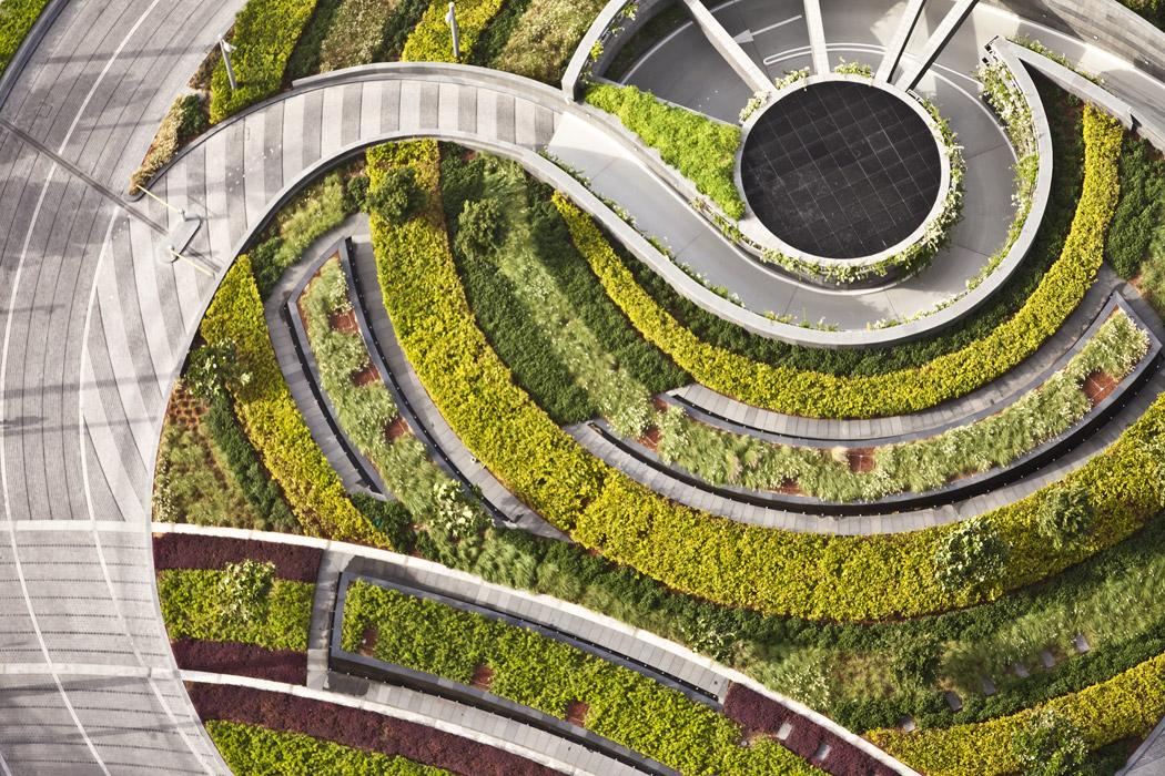 Paisagismo no entorno da Burj Khalifa / SWA Group, © Tom Fox
