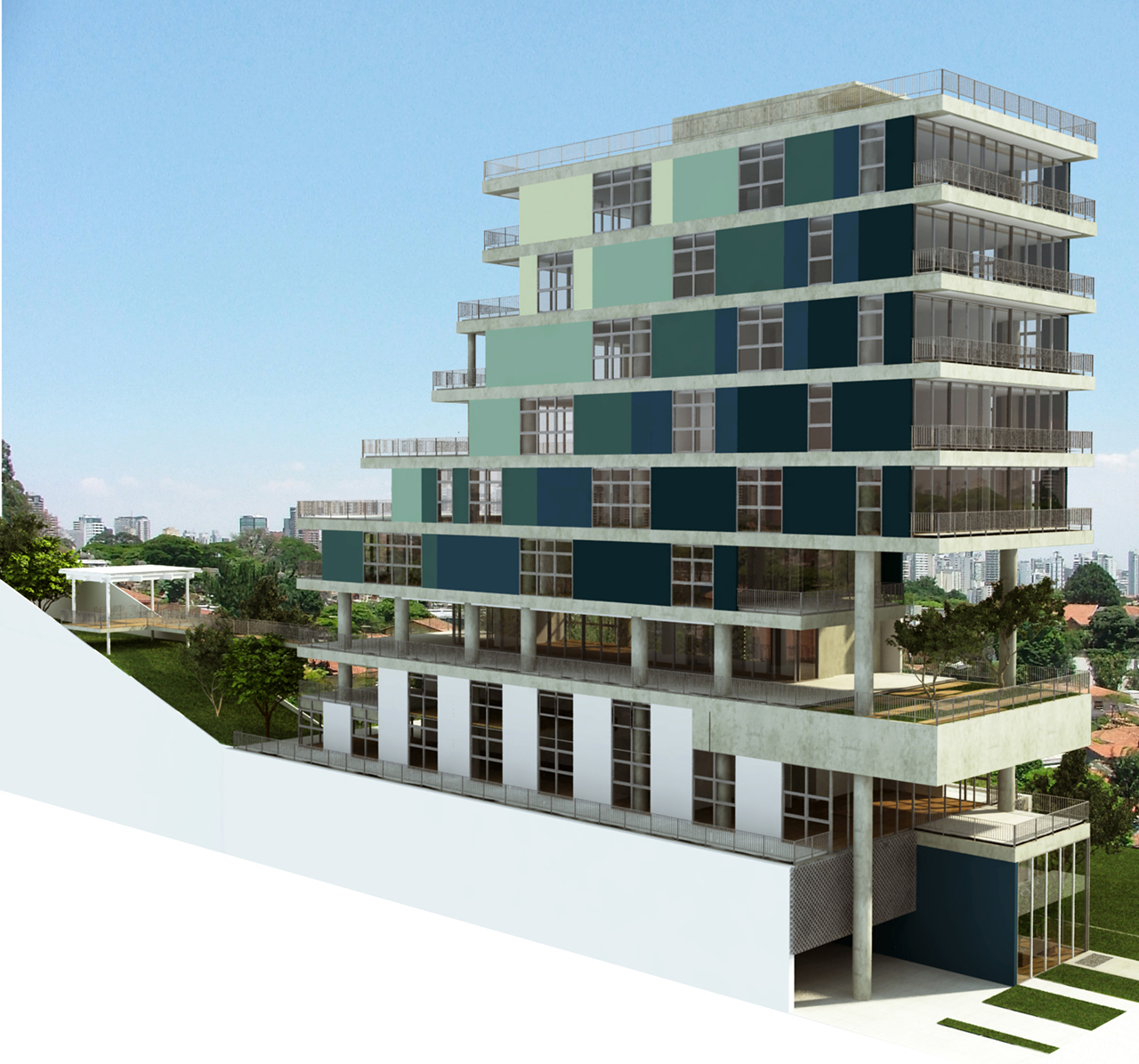 Preferência Galeria de Em Construção: Edifício Comercial João Moura / Nitsche  MC15