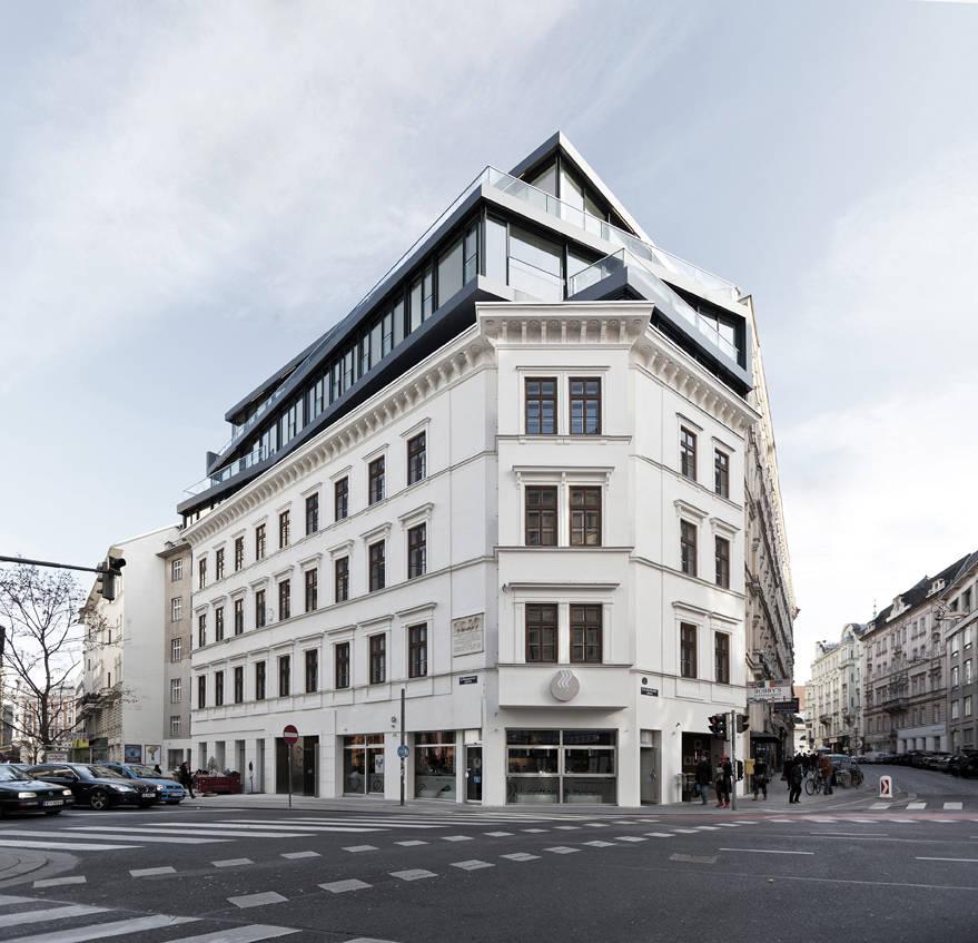 Renovação e Ampliação: Margaretenstrase 9 / Josef Weichenberger Architects, © Erika Mayer