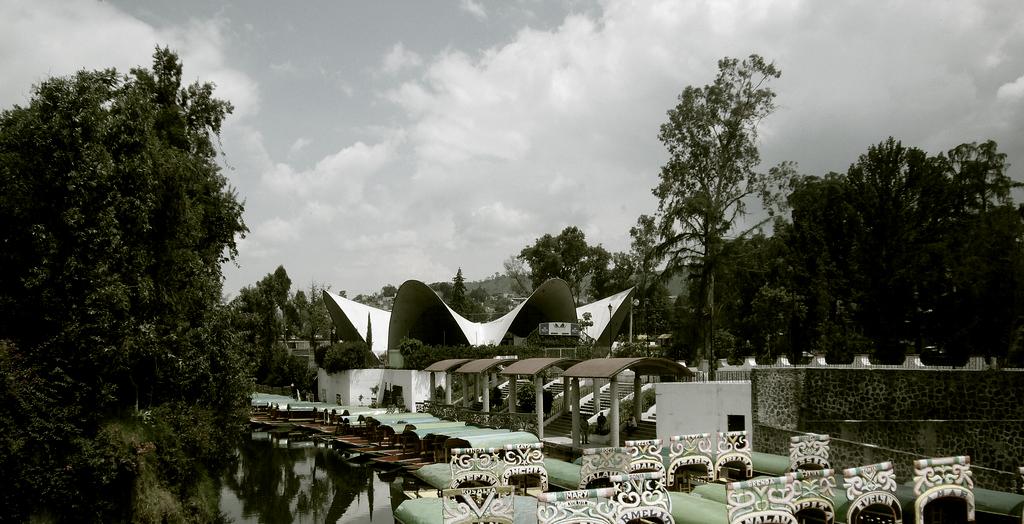 Clássicos da Arquitetura: Restaurante Los Manantiales / Félix Candela, © Erik Eugenio Martínez Parachini