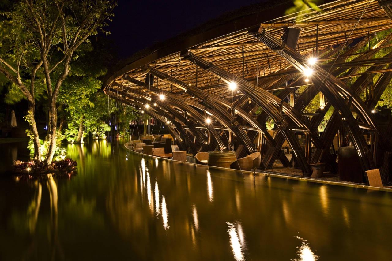 Bamboo Wing / Vo Trong Nghia, © Hiroyuki Oki