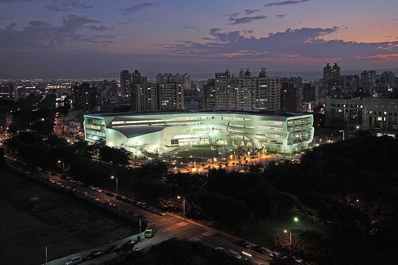 Biblioteca Nacional de Informação Pública / J. J. Pan & Partners, © Wei-Shih Hsieh, JJPan