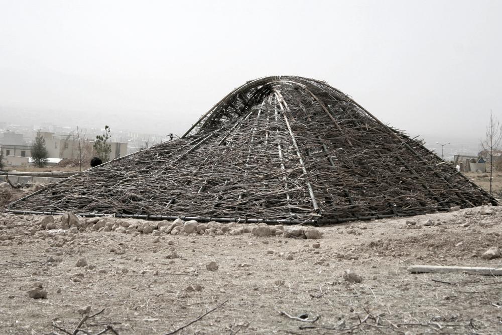Estrutura de Barro / Architecture for Humanity Tehran - Rai Studio, © Mahsa Masoudi