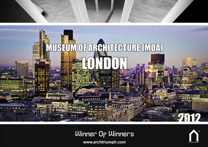 Concurso Internacional para projetar NOVO Museu de Arquitetura (MOA) em Londres