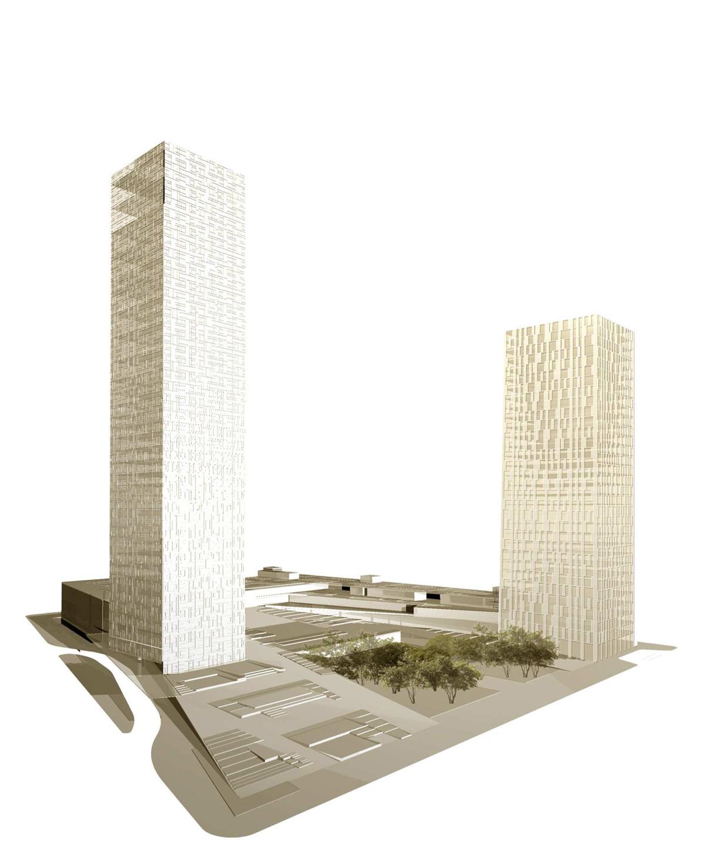 A DESIGN AWARD 2012 – Silver Award - High-Rise Structures – Porto Olímpico / Paula Werneck, Vista Geral