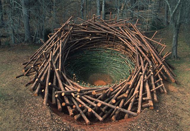 Arte e Arquitetura: Um ninho de 80 toneladas, © Nils-Udo