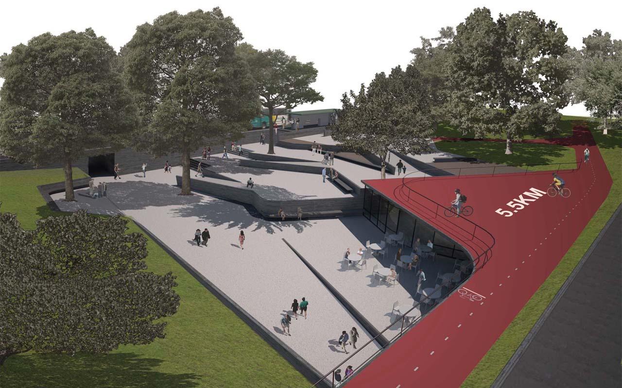 Resultado do Concurso Nacional de Arquitetura Passagens sob o Eixão / Brasília - DF, 1° Lugar