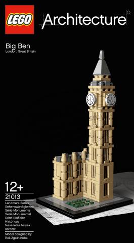 Novidade: LEGO Architecture Landmark Series - Big Ben , LEGO®