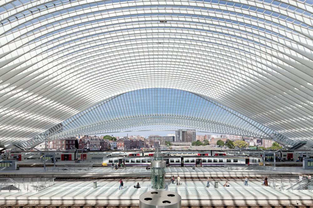 Fotografia e Arquitetura: João Morgado, Estação de Alta Velocidade de Liège-Guillemins - Santiago Calatrava © João Morgado