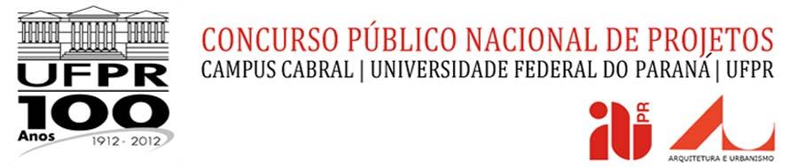 Concurso Público Nacional de Projetos para o Campus Cabral da Universidade Federal do Paraná