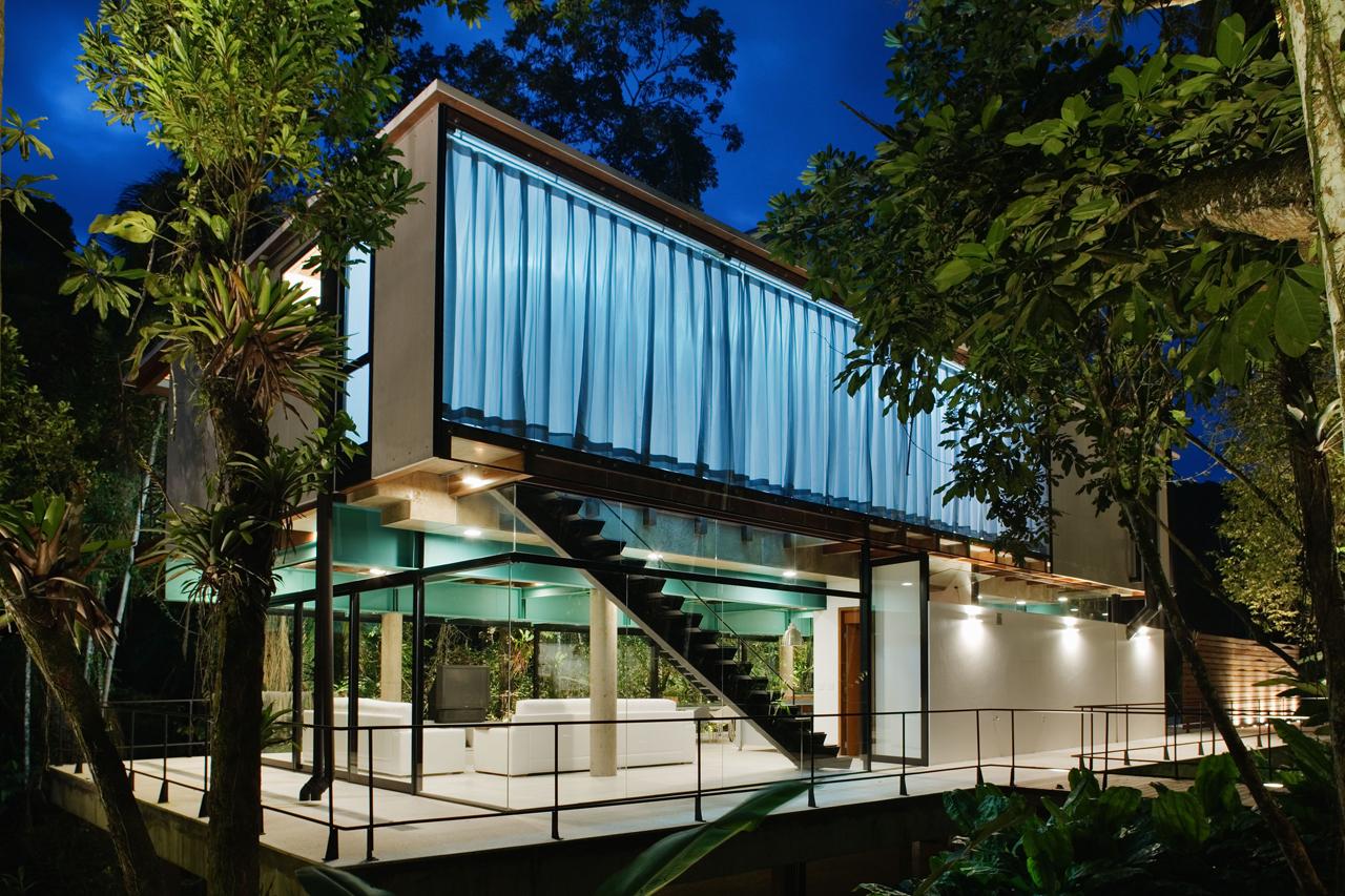 Residência em Iporanga / Nitsche Arquitetos Associados, © Nelson Kon
