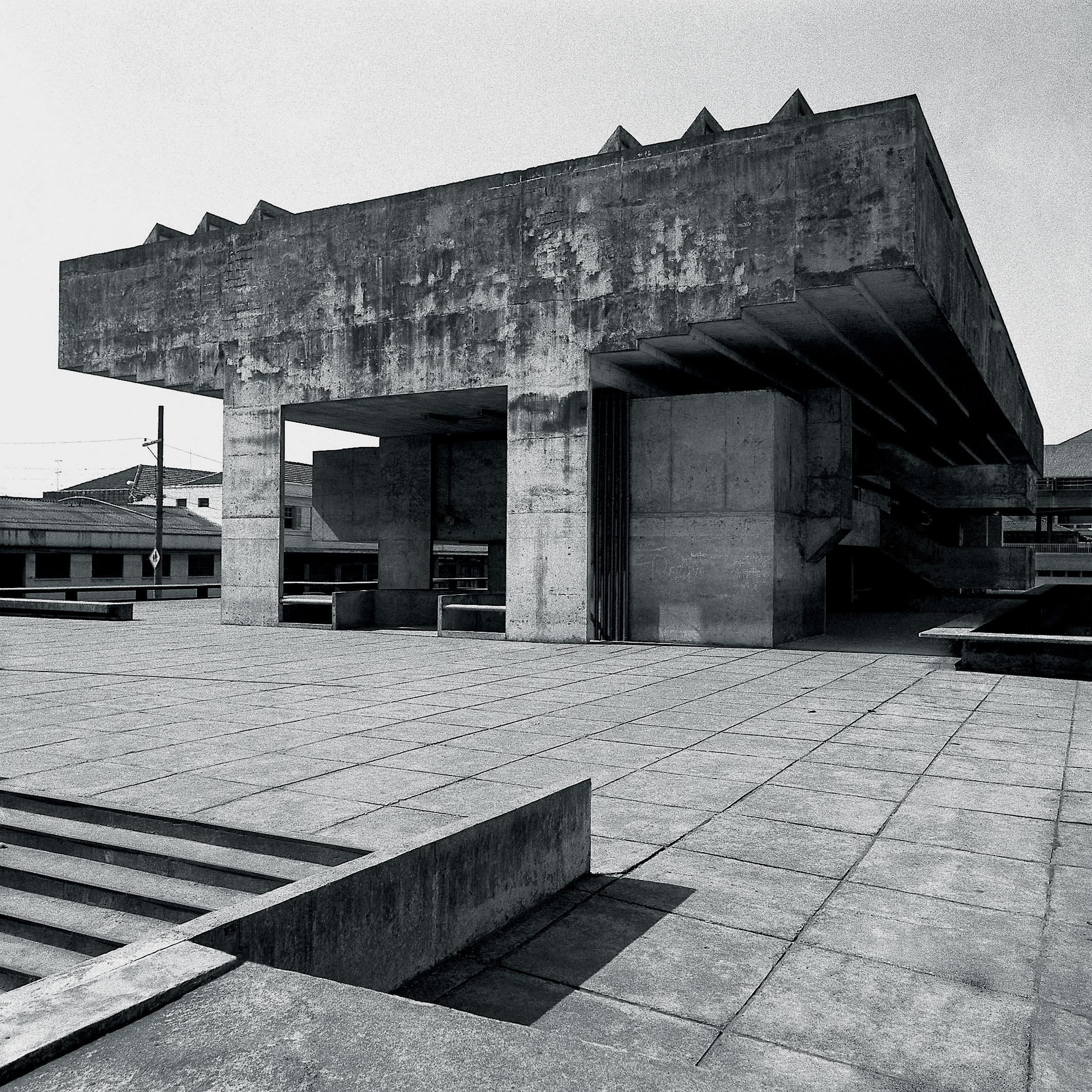Clássicos da Arquitetura: Escola Técnica de Comércio / Decio Tozzi, Cortesia Decio Tozzi