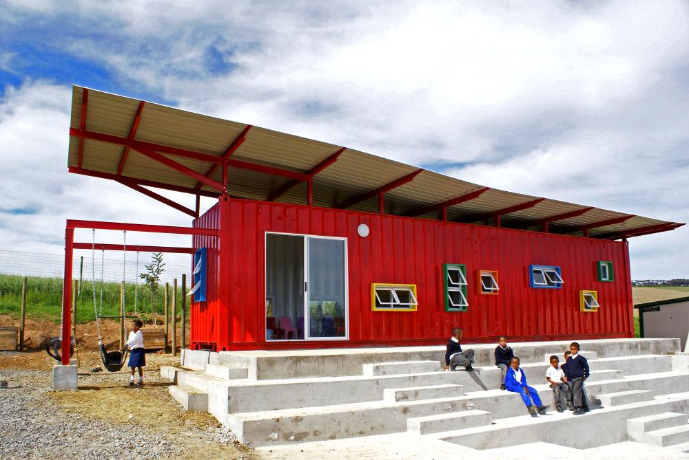 Crianças da África guiam o projeto da sua própria escola, © Tsai Design Studio