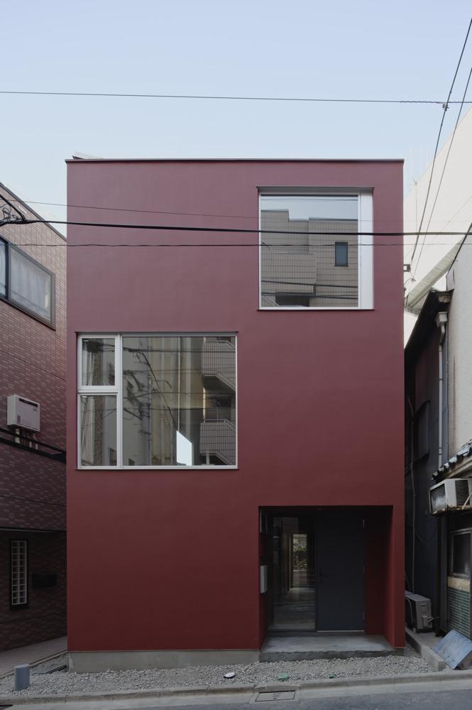 Casa Rouge / APOLLO Architects & Associates, © Koichi Torimura