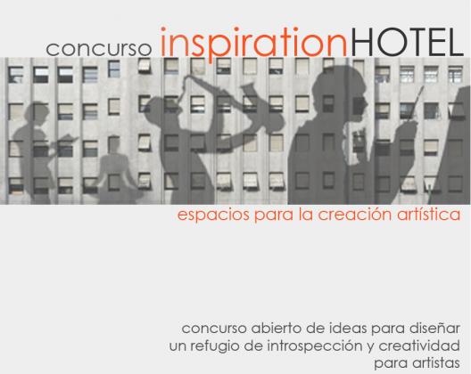 Concurso Inspiration Hotel: Espaços para a Criação Artística
