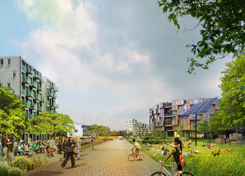 Em construção: Urbanismo D.I.Y. Almere Oosterworld / MVRDV, Cortesia de MVRDV