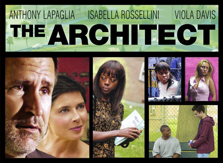 "Cinema e Arquitectura: ""The Architect"", Cartaz"
