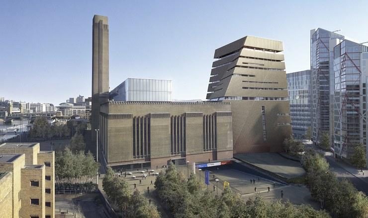 Herzog & De Meuron completa a primeira fase da extensão do Tate Modern, © Peter Saville Hayes Davidson Herzog & de Meuron