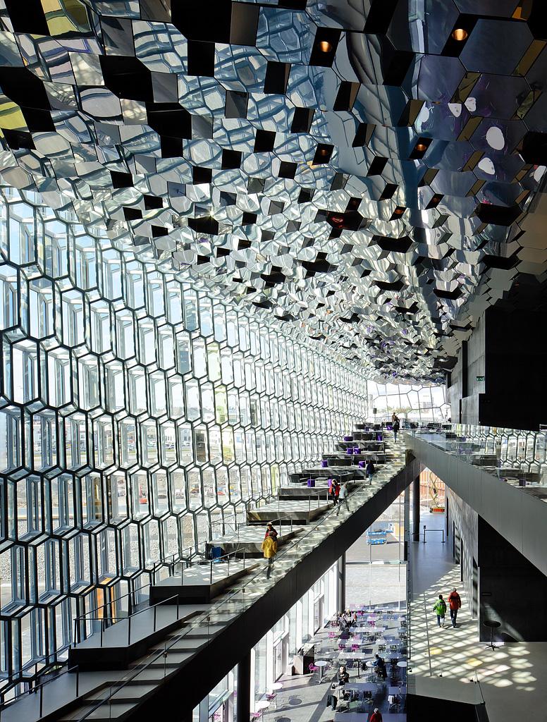 Fotografia e Arquitetura: Pedro Kok, Harpa Concert Hall, Reykjavik, Islândia - Olafur Eliasson & Henning Larsen Architects © Pedro Kok