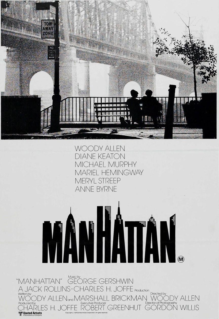 """Cinema e Arquitetura: """"Manhattan"""", Cartaz"""