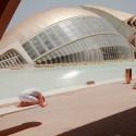 Ciutat de les Arts i les Ciències, Santiago Calatrava, Valencia / © Anna di Prospero