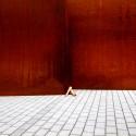Escultura Novartis Campus, Richard Serra, Basel / © Anna di Prospero