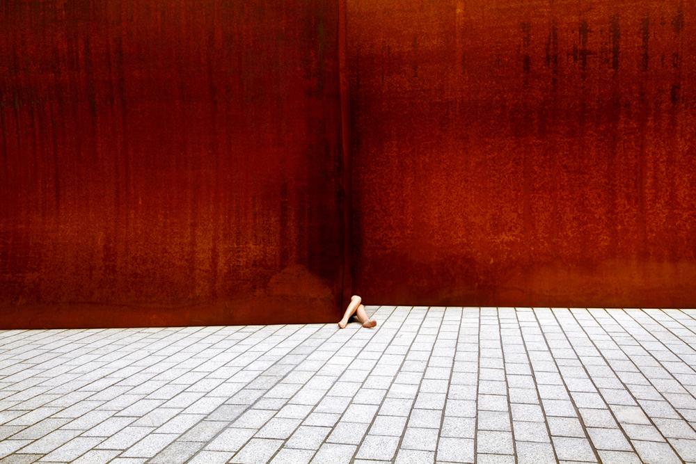 Arte e Arquitetura: Anna di Prospero, Escultura Novartis Campus, Richard Serra, Basel / © Anna di Prospero