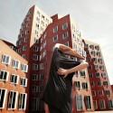Rheinhafen, Frank Gehry, Düsseldorf © Anna di Prospero