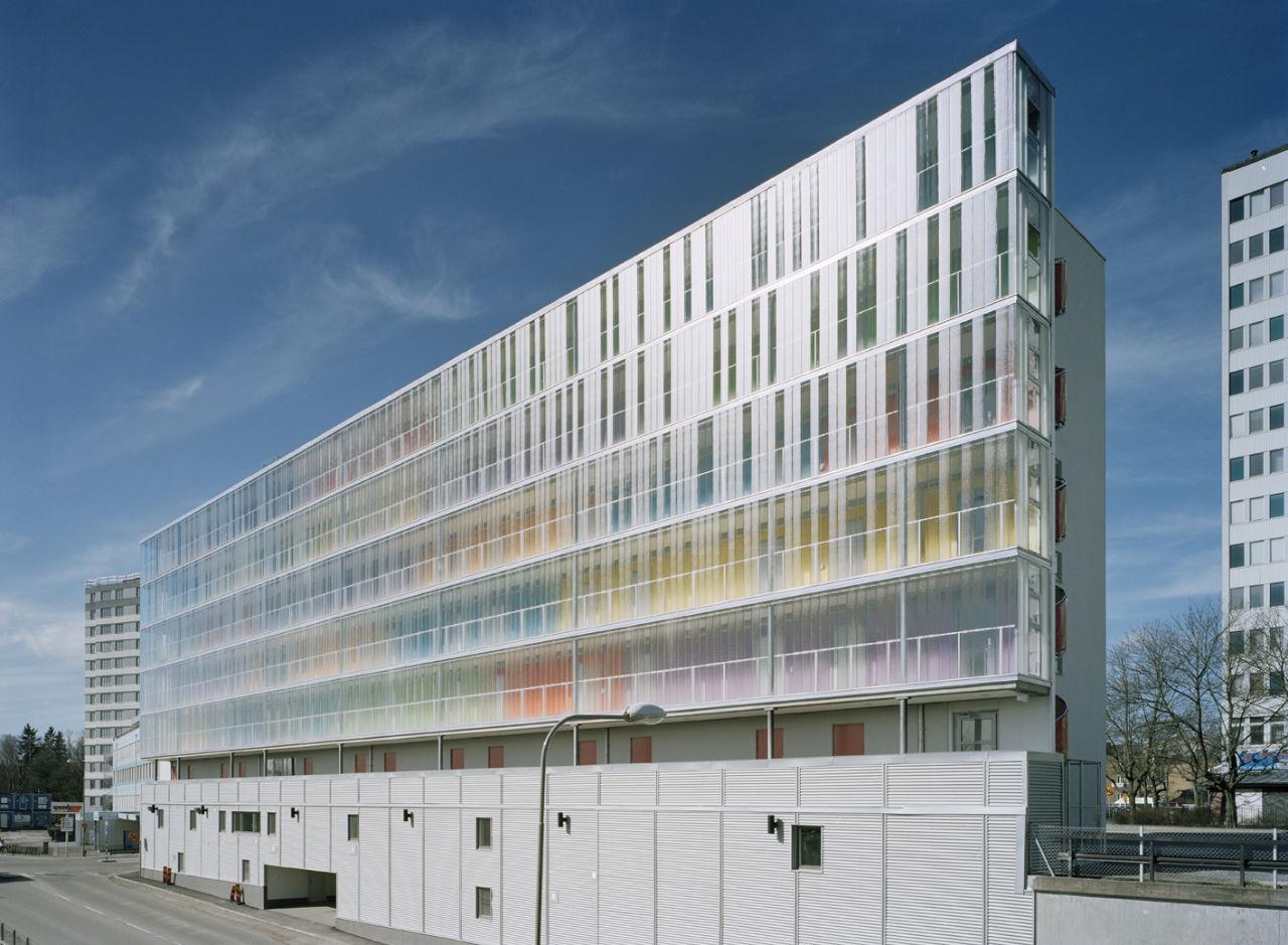 Residência de Estudantes em Estocolmo / Scheiwiller Svensson Arkitektkontor, © Åke Eson Lindman