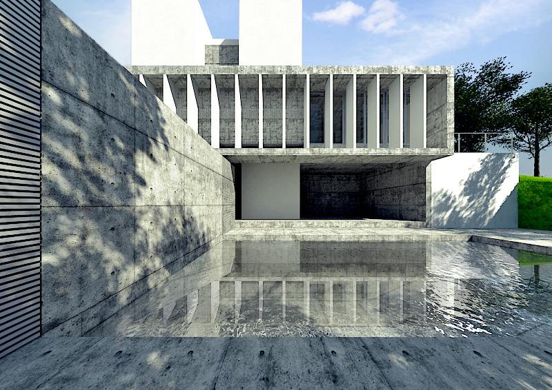 Casa em Estoril / Jorge Mealha, © Teófilo Raposo - MMTRA visualization