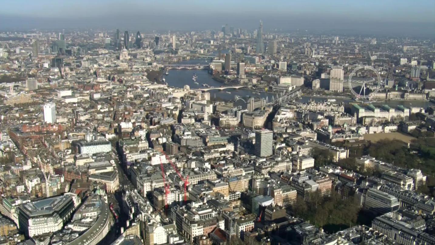 Vídeo: Londres desde o céu / Jason Hawkes, © Jason Hawkes