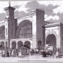 Abertura da estação, 1852