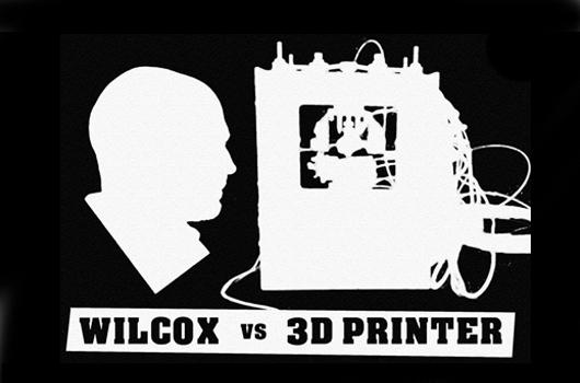 A batalha entre um homem e uma impressora 3D, Imagem via google