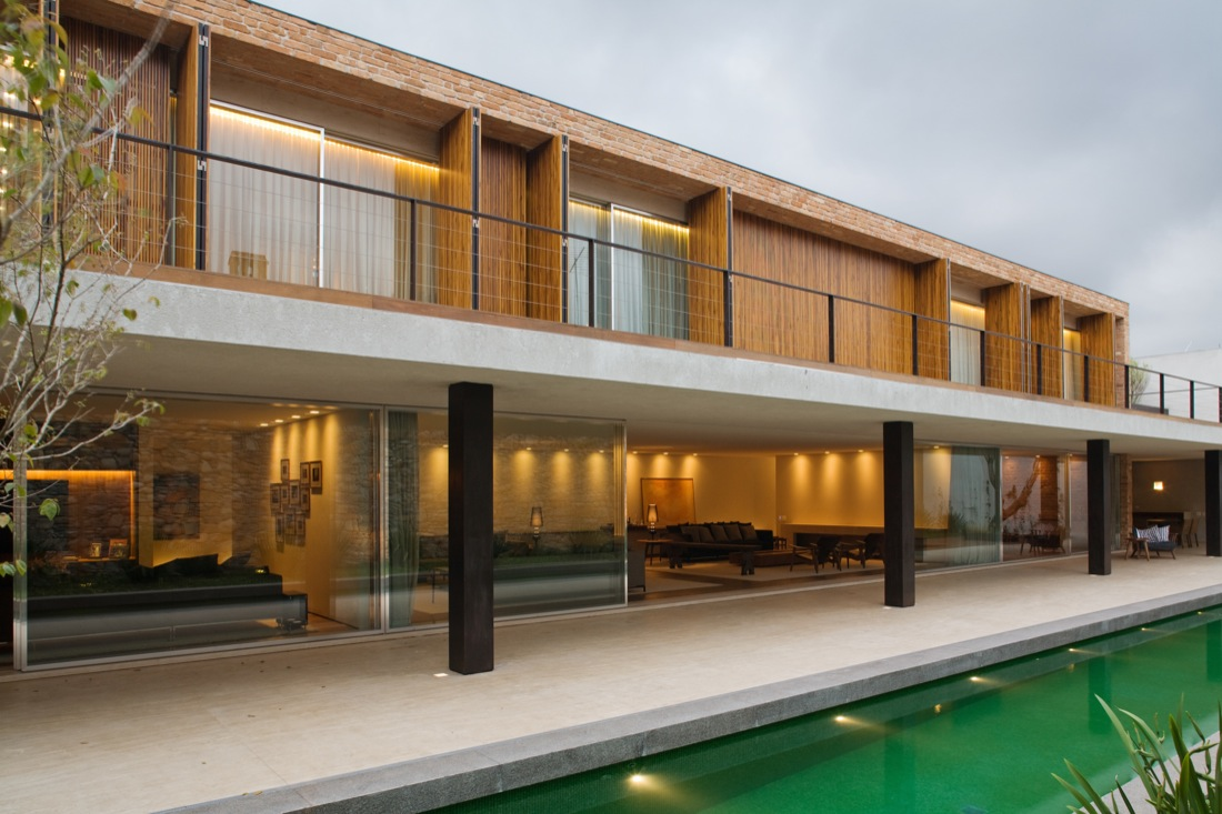Casa de Tijolinho / Studio MK27 – Marcio Kogan, © Nélson Kon