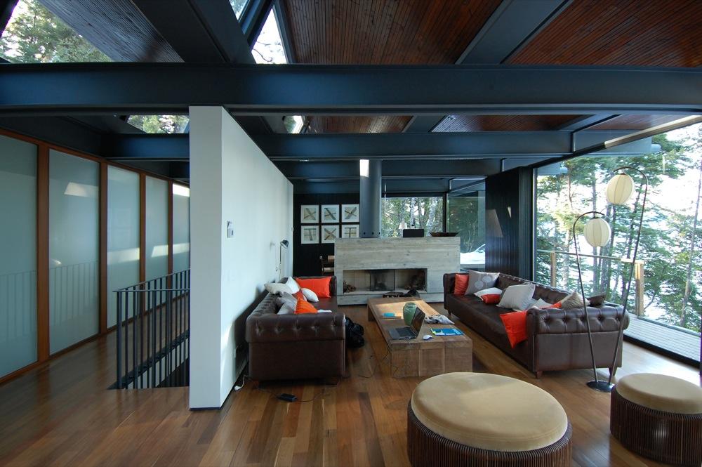 Galeria de casa techos mathias klotz 12 for Techos para galerias de casas
