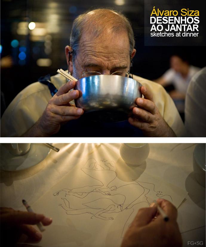 Arte e Arquitetura: Desenhos ao Jantar / Álvaro Siza, © FG+SG – Fernando Guerra, Sergio Guerra