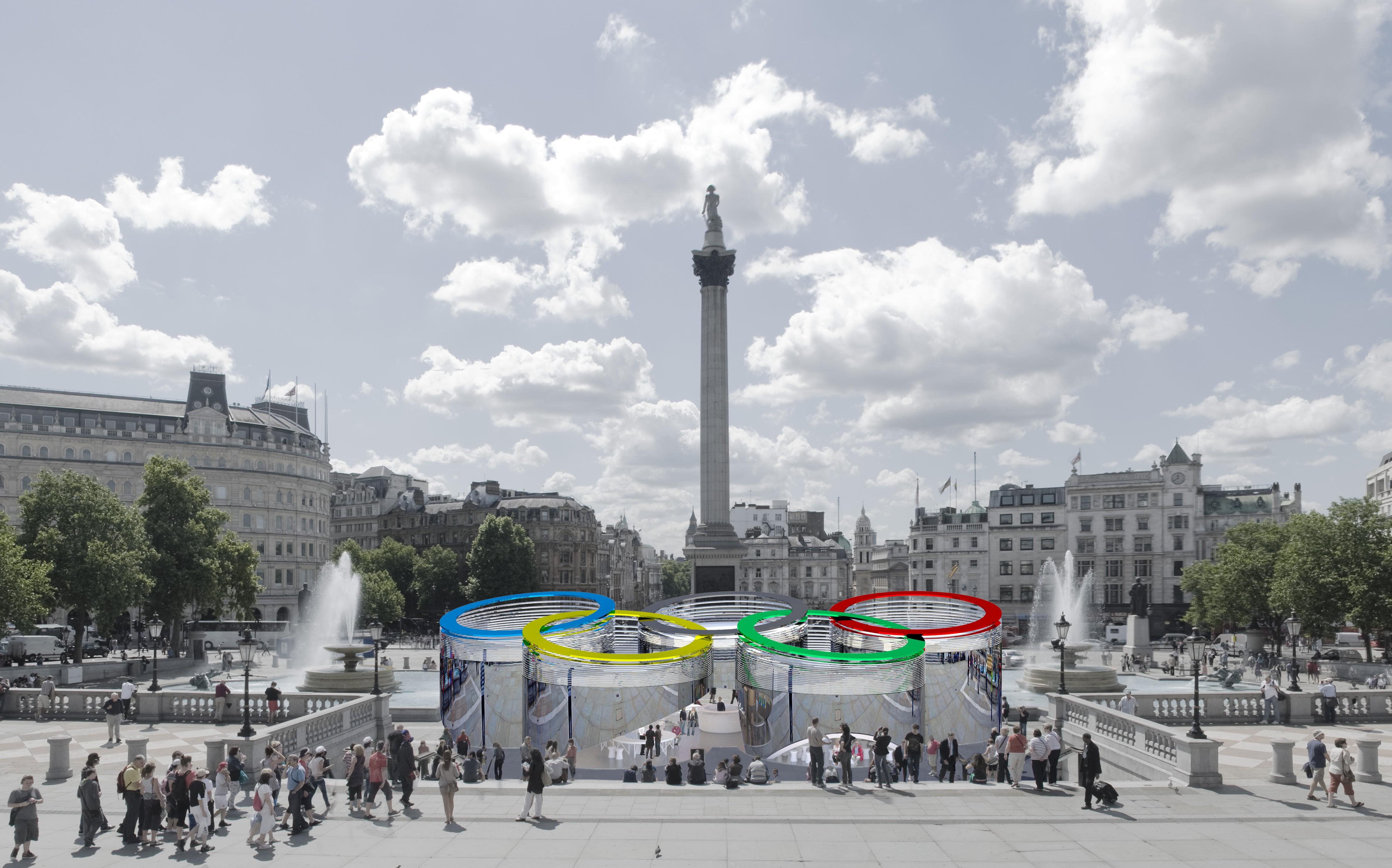 Resultado do Concurso Pavilhão de Informações para os Jogos Olímpicos de Londres, Divulgação