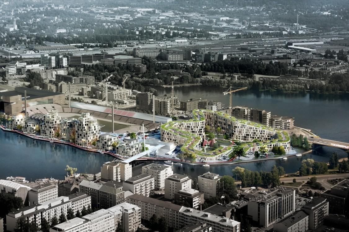 BIG ganha concurso para revitalizar o centro da terceira maior cidade da Finlândia, Cortesia BIG