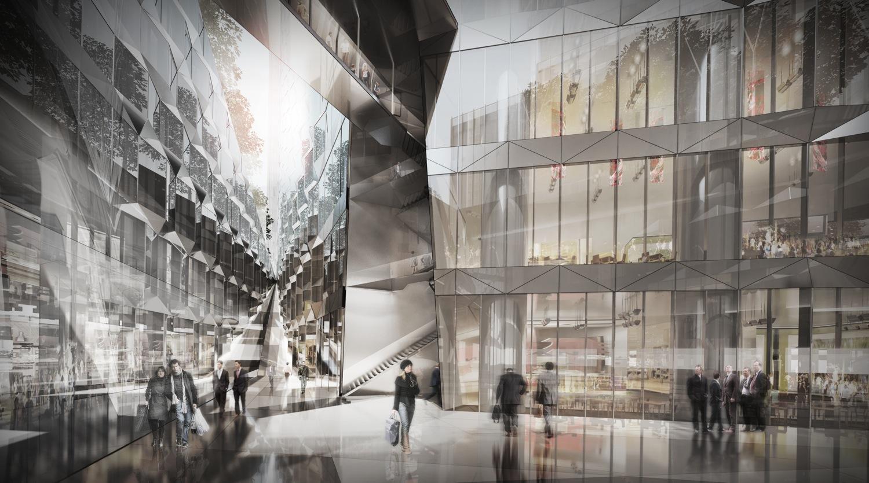 Dominique Perrault é selecionado para construir uma das torres do futuro Centro de Negócios de Seul, © Luxigon / DPA / Adagp