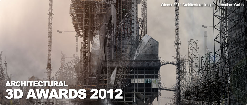 CONCURSO CGarchitect Architectural 3D Awards, Cartaz