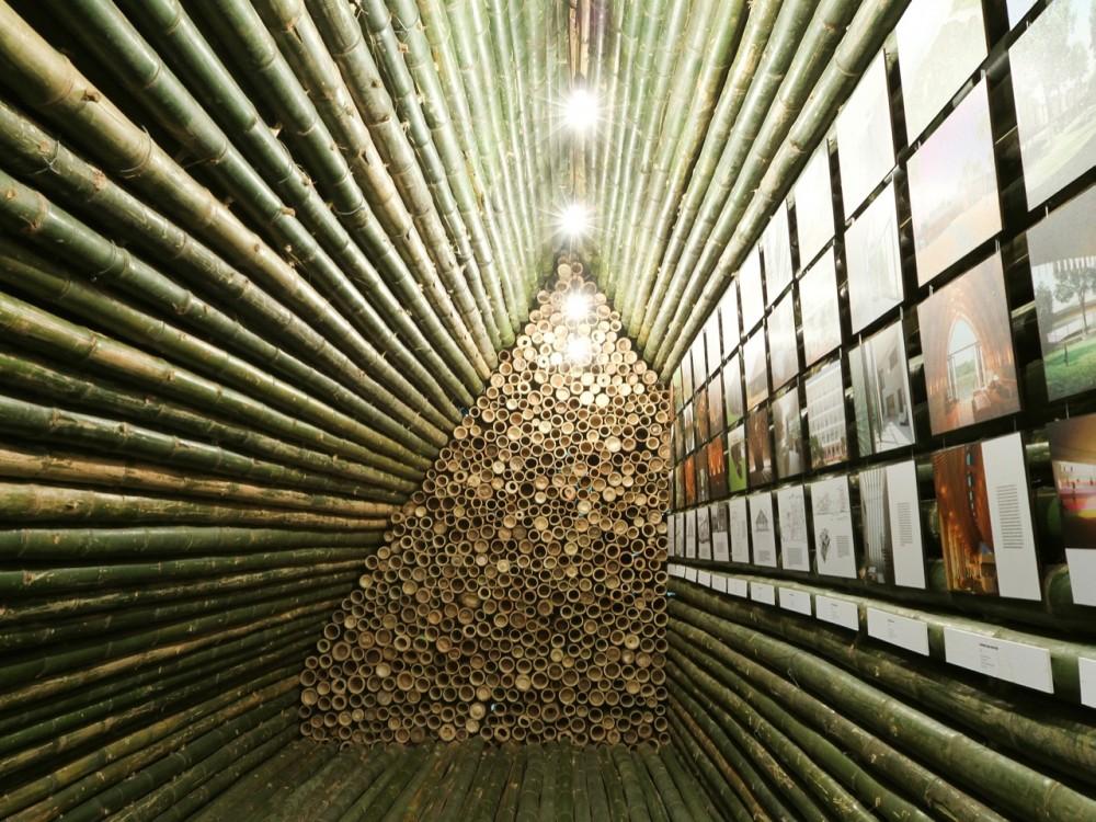 Bamboo Booth 2012 / Vo Trong Nghia, © Nguyen Quang Phuc - Vo Trong Nghia