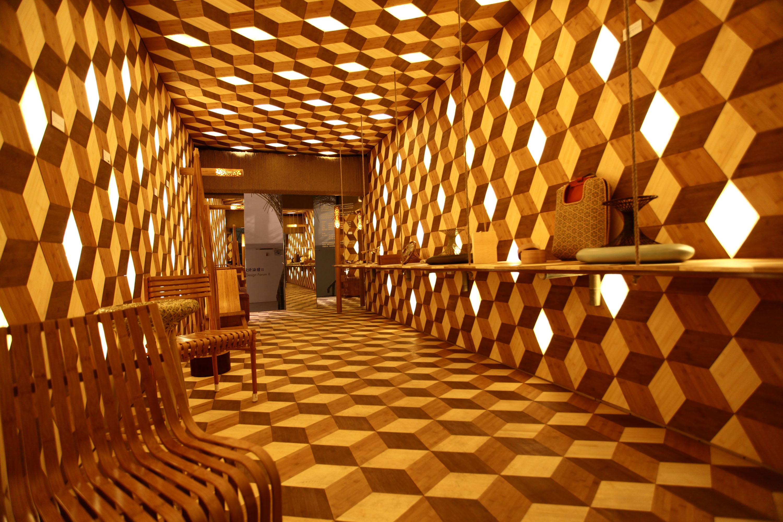 LED Bamboo / Jeff Dah-Yue SHI, Cortesia Jeff Dah - Yue SHI