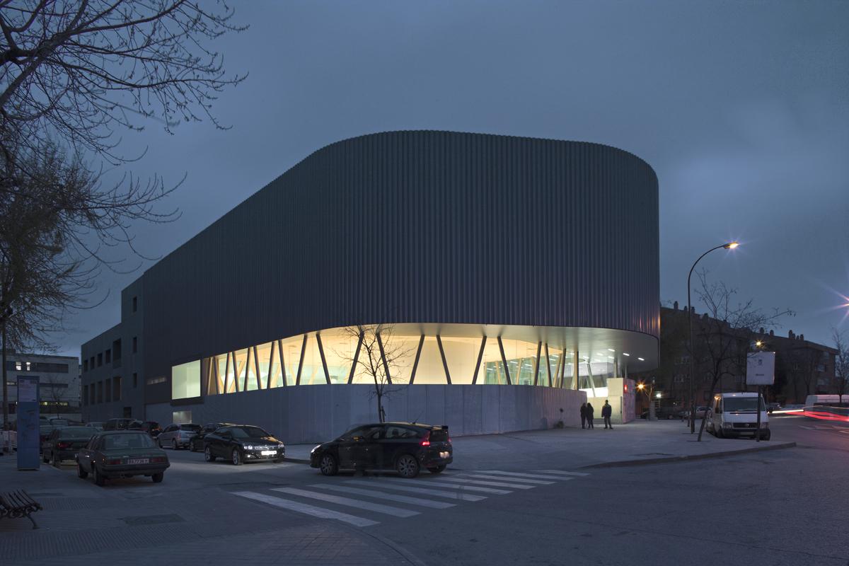 Biblioteca Pública de Vallecas / EXIT Architects, © Cortesia de EXIT Architects