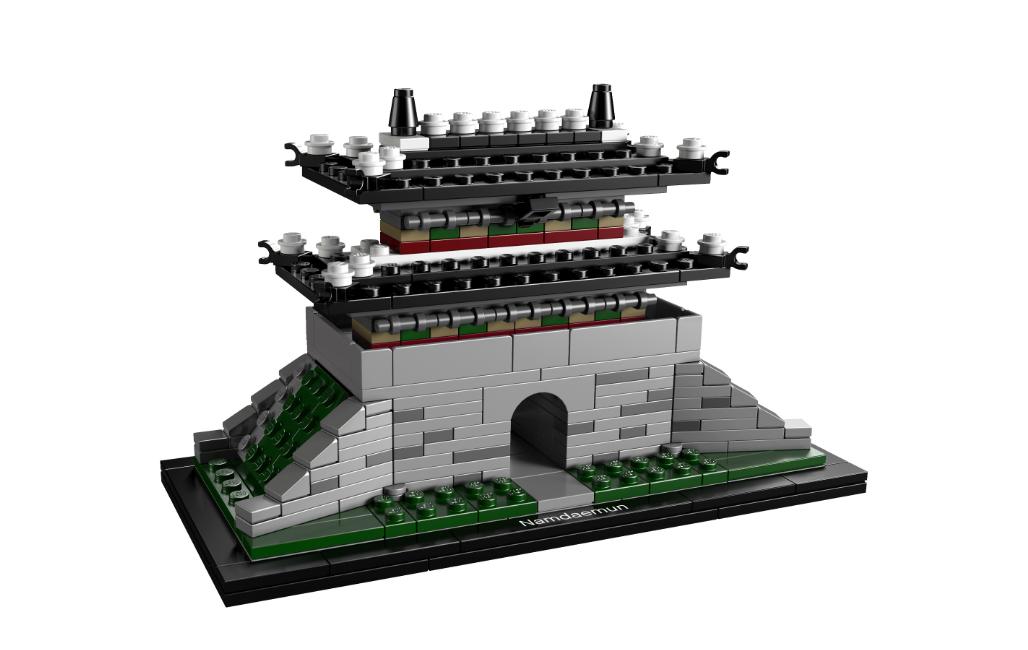 Novidade: LEGO Architecture Landmark Series – Sungnyemun, Divulgação