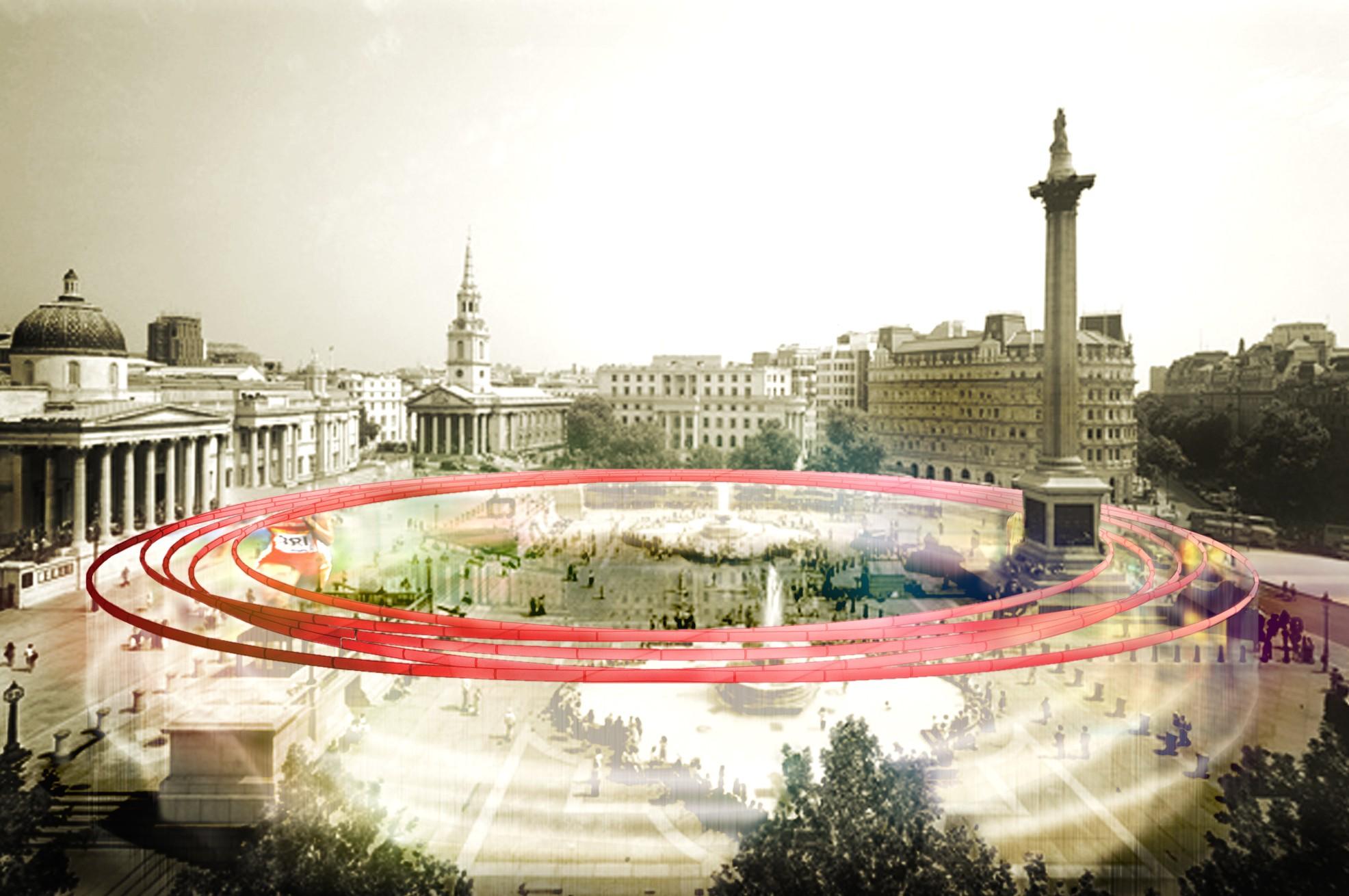 Proposta para o Pavilhão de Informação de Londres / DCPP Arquitectos, Cortesia de DCPP Arquitectos