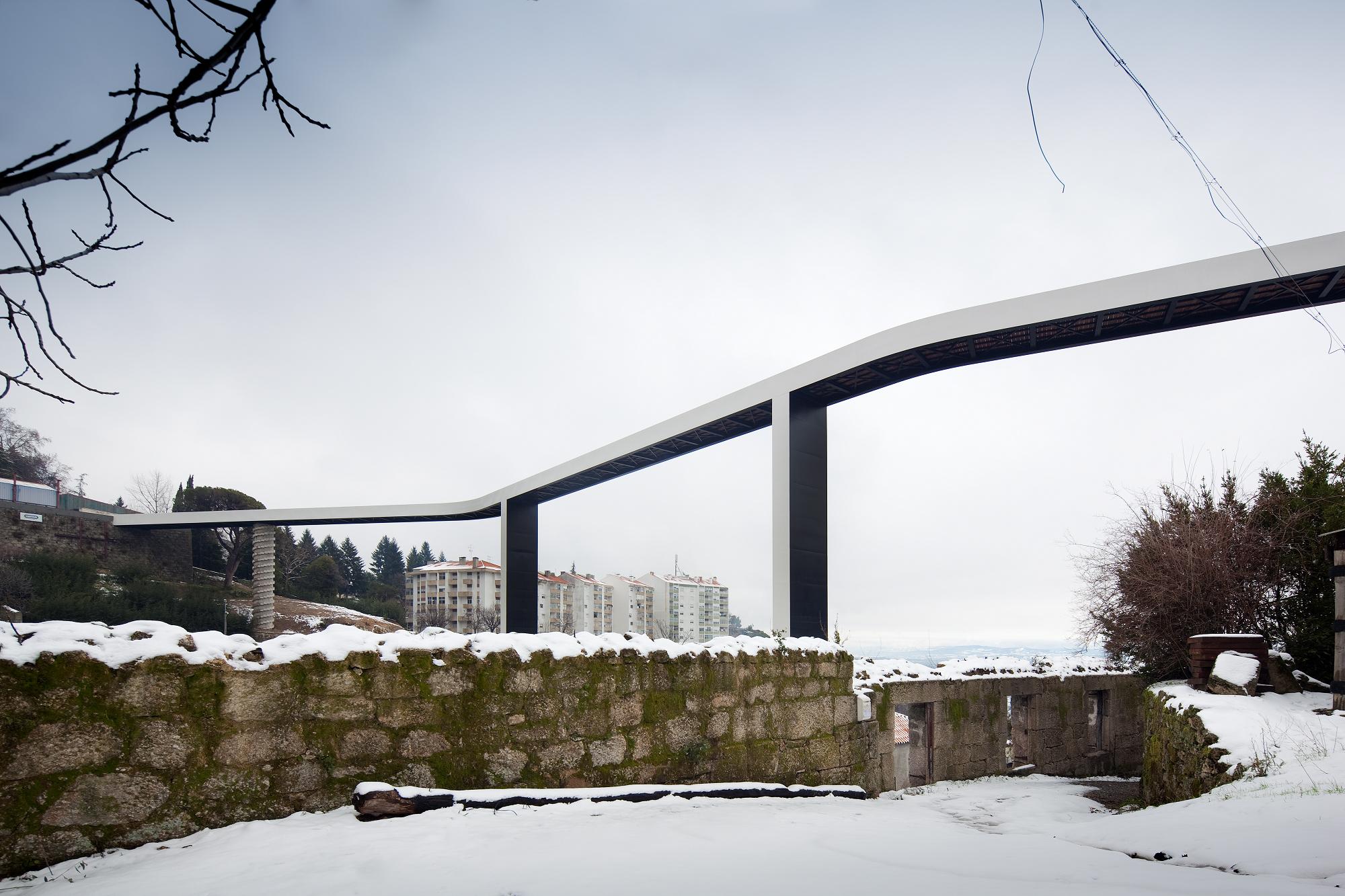 """Carrilho da Graça Arquitectos ganham o 1º prêmio da AIT Awards, na categoria """"Transporte"""", © FG + SG - Fernando Guerra, Sergio Guerra"""